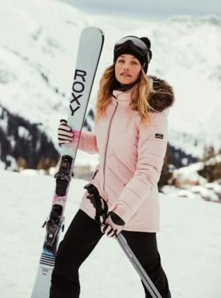 Женская сноубордическая куртка Quinn, розовый, XL
