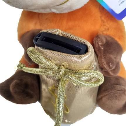 Мягкая игрушка-копилка музыкальная Baziator H0263A Бык золотая