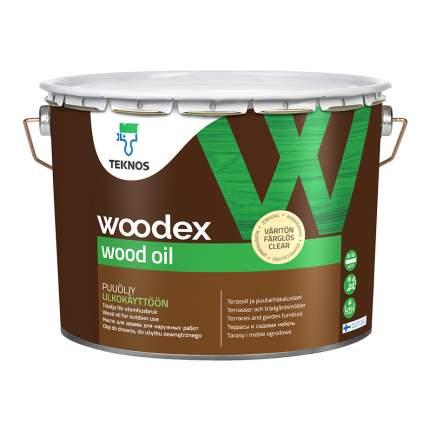 Масло для наружных работ Teknos Woodex Wood Oil. 2,7 л