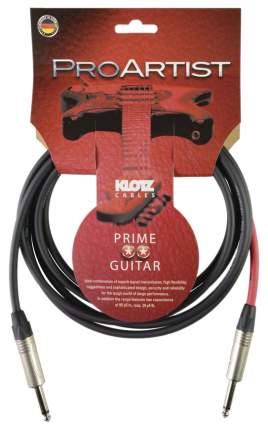 Инструментальный кабель Klotz PRON030PP Pro Artist  Jack-Jack, 3м