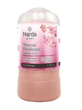 Дезодорант NARDA кристаллический Сакура 80 гр