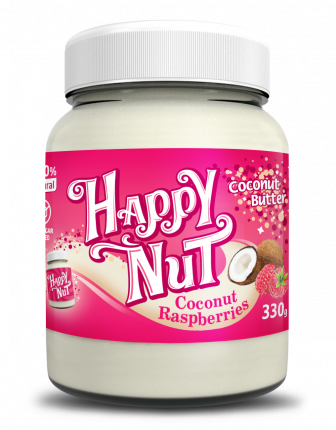 Кокосовая паста с малиной Happy Nut Coconut Raspberries 330г