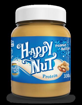 Арахисовая паста Happy Nut Protein с протеином 330 г