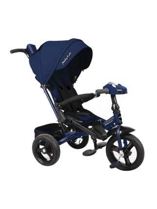 Велосипед трехколесный Moby Kids New Leader 360° 12x10 AIR Car синий