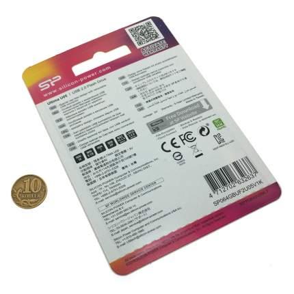 USB-флешка Silicon Power Ultima U05 SP064GBUF2U05V1K Black