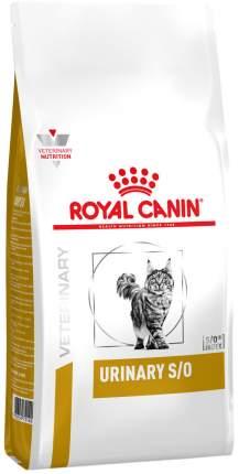 Сухой корм для кошек ROYAL CANIN Urinary S/O LP34, при МКБ, домашняя птица, 7кг
