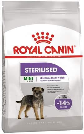 Сухой корм для собак ROYAL CANIN Sterilised Mini Adult, для мелких пород, птица, 3кг