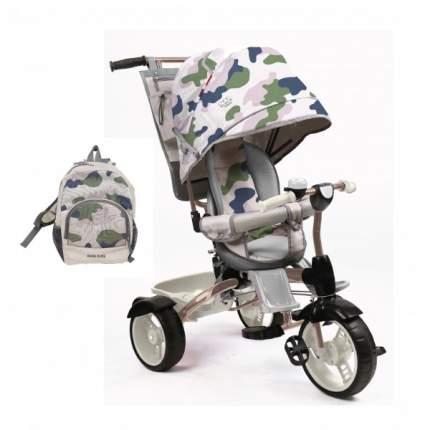 Велосипед детский Nika ВД5/3 трехколесный, в стиле милитари