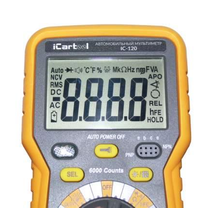 Автомобильный мультиметр iCartool IC-120