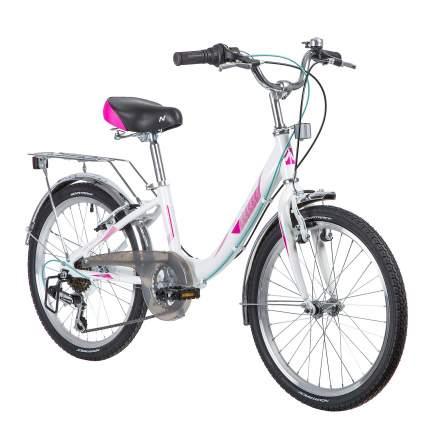 "Велосипед Novatrack Ancona 20"" белый"