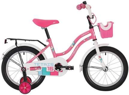 """Велосипед Novatrack Tetris 14"""" розовый"""
