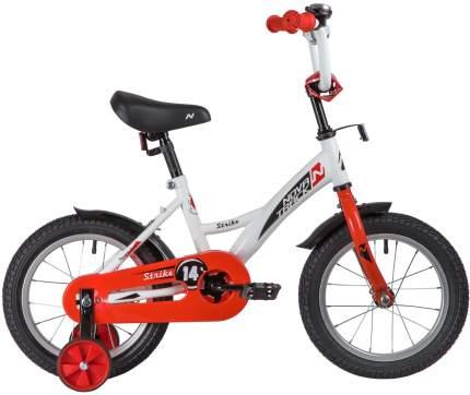 """Велосипед Novatrack Strike бело-красный 14"""""""