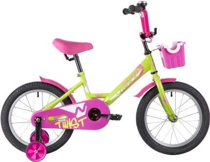 """Велосипед Novatrack TWIST зеленый 16"""""""
