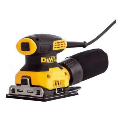 Сетевая вибрационная шлифовальная машина DeWALT DWE6411-QS
