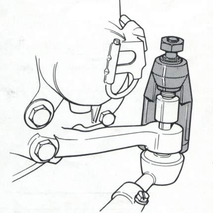 Съемник шаровых опор Mercedes CT-A1083