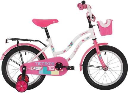 """Велосипед Novatrack Tetris белый 12"""""""