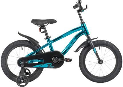 "Велосипед Novatrack Prime 16"" синий металлик"