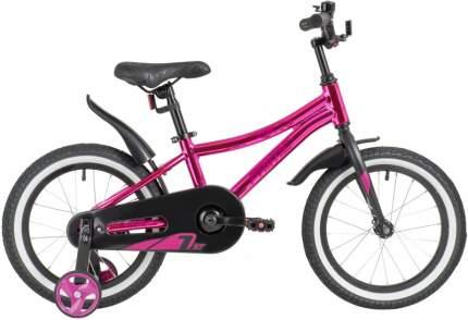 """Велосипед Novatrack Prime 16"""" розовый металлик"""