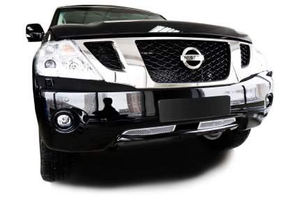 Сетка в бампер для Nissan Patrol (2010-2014) Тип Woven Mesh Bottom,