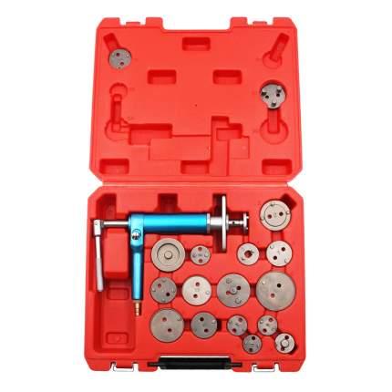 Набор для тормозных цилиндров, пневмопривод и 16 адаптеров Car-tool CT-V01190