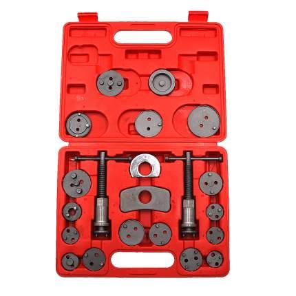 Набор для утапливания поршней тормозных цилиндров 21 предметов Car-tool CT-N0131