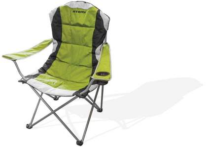 Кресло Atemi AFC-750 серое/зеленое