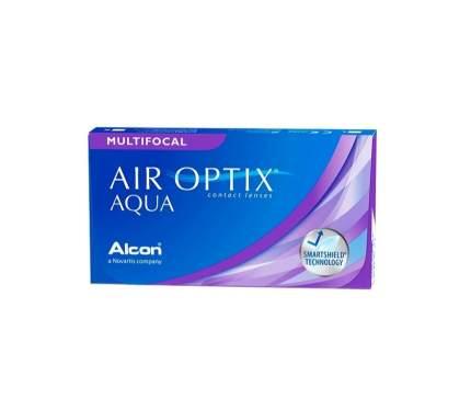 Контактные линзы Alcon Air Optix Aqua Multifocal, +5.25, add HIGH
