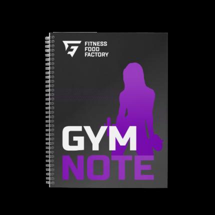 Фитнес-дневник Fitness Food Factory Фиолетовый