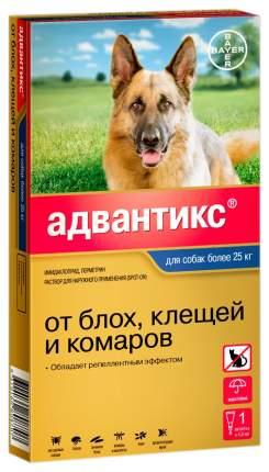 Капли для собак против паразитов Bayer Адвантикс, 25-40 кг, 1 пипетка, 2,5 мл