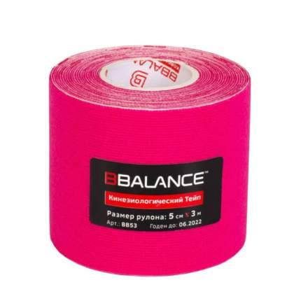 Кинезио тейп BBTape (5см*3м) #3 Pink | Розовый