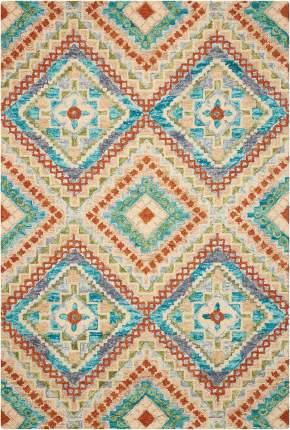 Шерстяной ковер ручной набивки коллекции «Vibrant» 55348, 122x183 см