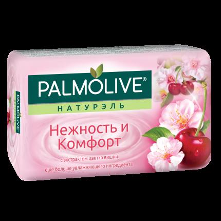 Косметическое мыло Palmolive Натурэль Нежность и комфорт Цветок вишни 90 г