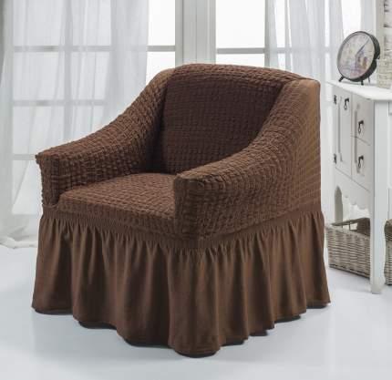Чехол на кресло Bulsan коричневый
