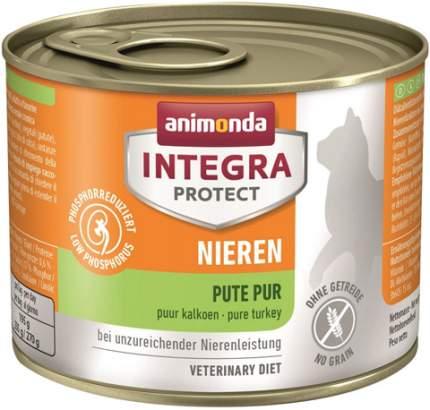 Консервы для кошек Animonda Integra Protect Nieren Renal, индейка, 200г