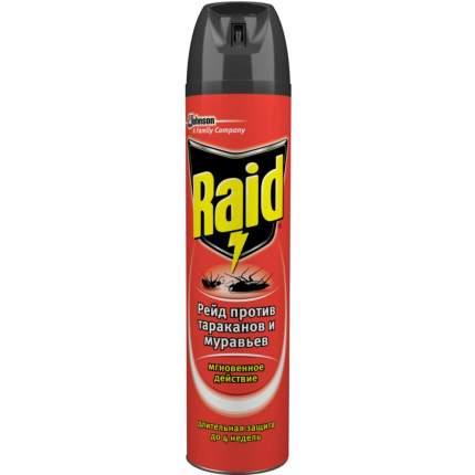 Аэрозоль Raid от тараканов и муравьев 300 мл