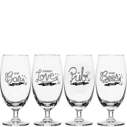 Sagaform Набор бокалов для пива Club (420 мл), 4 шт 5017327