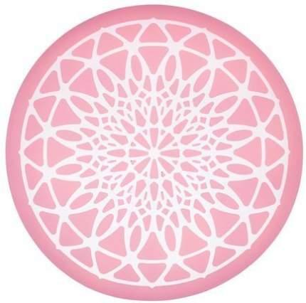 Kitchen Craft Силиконовый коврик-трафарет, 9 см, розовый SDILACEMAT10