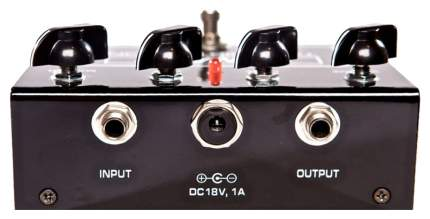Педаль эффектов Hiwatt Tube Distortion ламповая для гитары