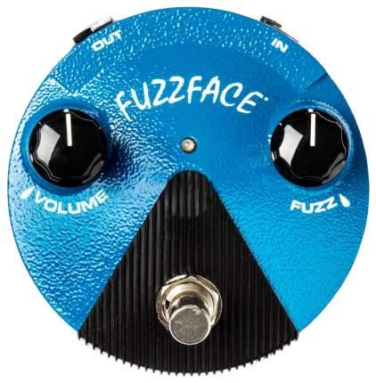 Педаль эффектов Dunlop FFМ1 Silicon Fuzz Face Mini Distortion гитарная, фузз, уменьшенная