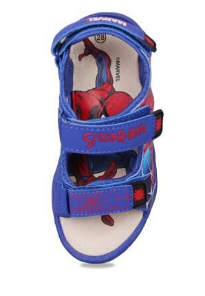 Сандалии детские Spider-Man, цв. синий р.30