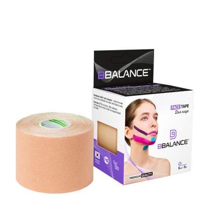 Кинезио тейп для лица BBTape Face Pack (5см*5м) #1 Beige | Бежевый