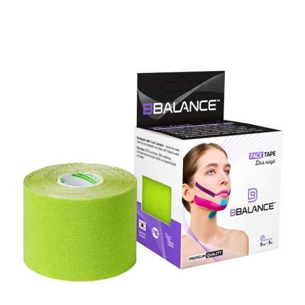 Кинезио тейп для лица BBTape Face Pack (5см*5м) #4 Lime | Лайм