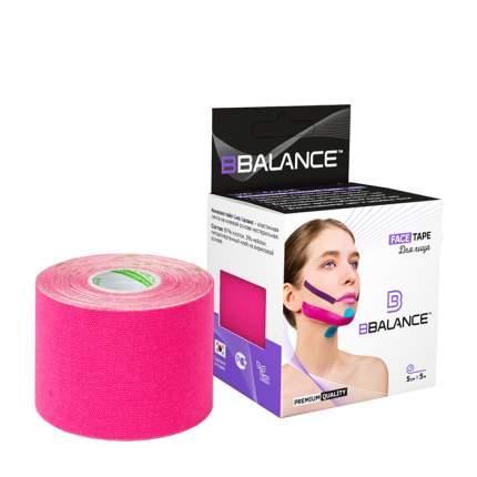 Кинезиотейп BBTape Face Pack розовый 5 см x 5 м