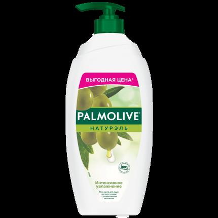 Гель для душа Palmolive Интенсивное увлажнение Олива и увлажняющее молочко 750 мл