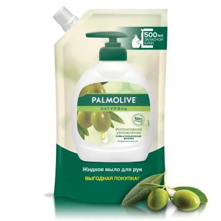 Жидкое мыло Palmolive Натурэль Интенсивное увлажнение олива в мягкой упаковке 500мл