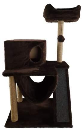 Комплекс для кошек Syndicate, коричневый, 4 уровня, 60*45*120см