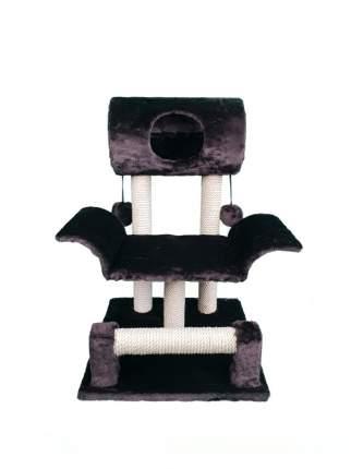 Комплекс для кошек Syndicate, коричневый, 3 уровня, 45х46х75см
