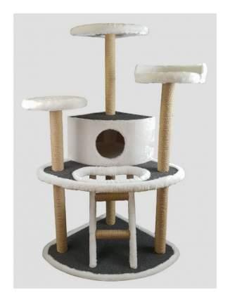 Комплекс для кошек Syndicate, белый, 6 уровня, 60х60х125см