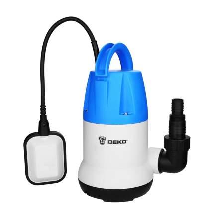 Насос дренажный DEKO CWP-550P (чистая, поплавок, 220В, 550Вт, пластик)