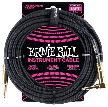 Кабель инструментальный Ernie Ball 6086  5,49 м